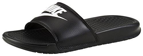 Nike Benassi JDI, Chaussures de Plage & Piscine mixte adulte Noir (noir/blanc)