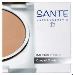 Sante Compact Powder No. 03 - Natur Talkum-puder