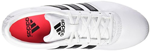 adidas Gloro 16.1 FG, Chaussures de Football Homme Noir (Ftwr White/Core Black/Matte Silver)