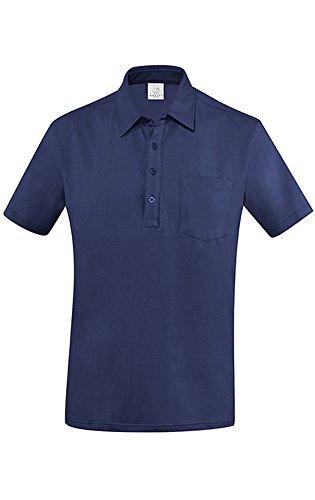 Greiff Herren-Poloshirt BASIC, Regular Fit, Stretch, 6627, mehrere Farben Marine