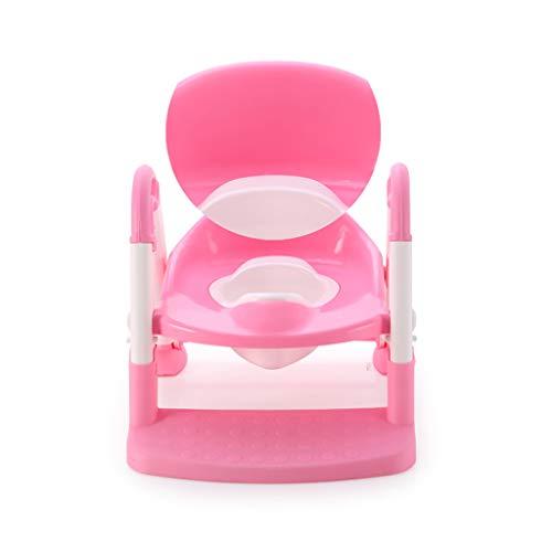MSNDIAN Toiletten-Leiter-Toilettenbaby-Töpfchenbaby des Kleinkindes Kleiner Toilettensitzkind-Toilettenkind-Urintopf der Kinder Kinder WC WC (Farbe : B)