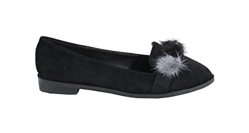 By Shoes ,Ballerine Donna Nero