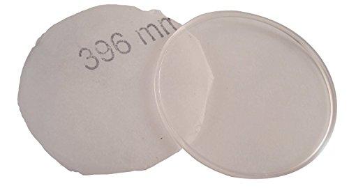 Gewölbtes Uhrglas Ersatz aus Acryl / Kristall, 35,0mm bis 40,0mm, Acrylic 39mm Diameter
