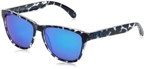 Roxy Damen ERJEY03004-XKKB Wayfarer Sonnenbrille, multilayer blue