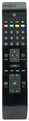 RC3902 Remote Control for LCD TV Sharp LC22D12E, LC22LE22E, LC32D12E, LC40F22E.