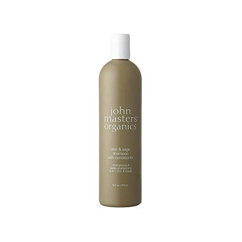 john masters organics zinc and sage shampoo with conditioner, 1er Pack (1 x 473 ml)