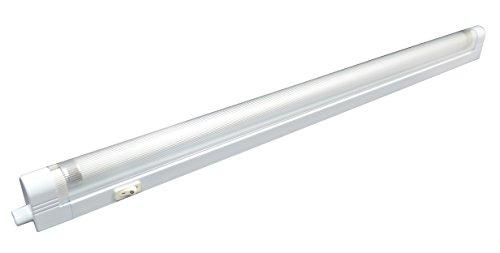 Tibelec 330410 Réglette Universelle à Economie d'Energie Blanc Plastique 13 W