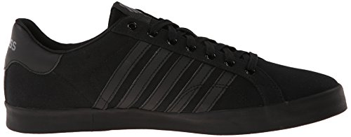 K-Swiss Belmont So T, Baskets Basses Homme Noir (Black/Charcoal 006)