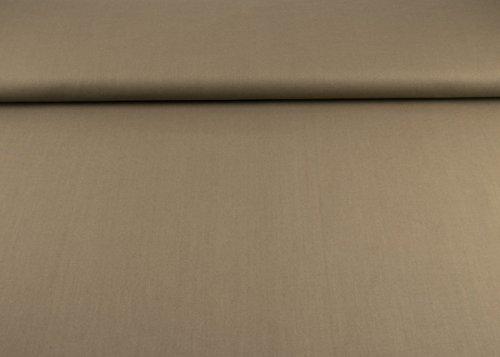 Qualität Baumwolle Stoff (SK Stoffe Toller Baumwoll-Stoff Uni aus 100% Baumwolle als Meterware in Braun I Maße: 25 cm x ca. 145 cm I 1A ÖKO-TEX Qualität Standard |)
