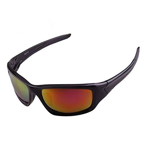 Sonnenbrille polarisiertes hochwertiges Material, leicht, hochauflösend, langlebig, PC-Rahmen, UV-Schutz, geeignet für unterwegs, Autofahren, Reiten, Tragen