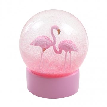 fun-flamingo-snow-globe