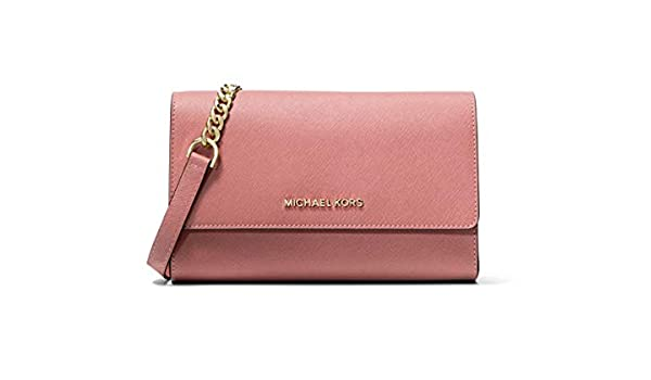 Michael Kors Women's Jet Set Travel Clutch Crossbody