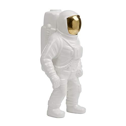 Seletti Diesel Living-Vase-Astronaut-Cosmic Diner-Porzellan-30 hoch, Porzellan, Weiß, 15 x 11 cm
