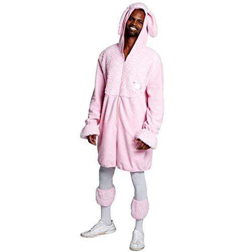 (Horror-Shop 2-teiliges rosa Pudel Kostüm M)