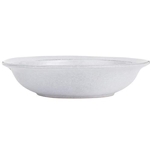 Ib Laursen Grey Dunes Assiette Creuse en faïence 20 x 4,5 cm