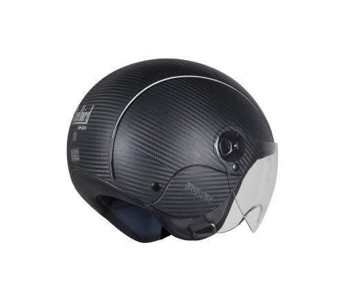 Steelbird Hi-Gn SBH-16 Pulse Dashing Open Face Helmet (Black, M)