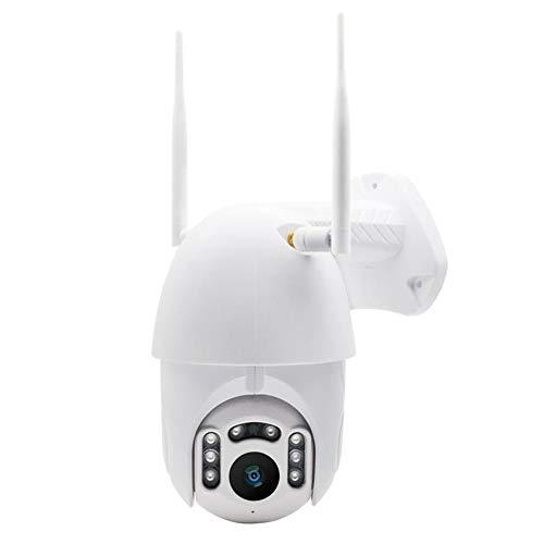 M-CP Sicherheitsmonitor, 1080P Überwachungskamera im Freien drahtlosen IP-Kamera bewegt Erkennung Infrarot-Nachtsicht wasserdichter Überwachung Wifi Dome-Kamera for Haustier/älteres/Baby,für Zuha