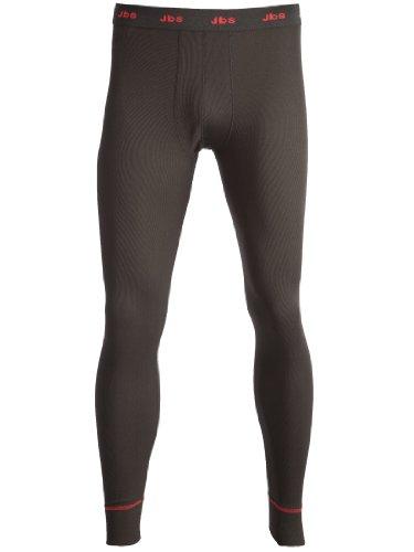 JBS, Pantaloni di compressione Uomo Dess. 700 Function Multicolore (Schwarz/Rot)