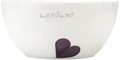 Berghoff 3800014 Lover by Lover Tazza Cereali, 0.75 L, Bianca