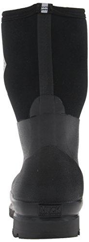 Muck Boots Unisex-Erwachsene Chore High Gummistiefel Schwarz (Black/Black)