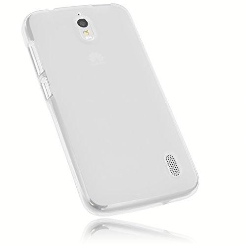 mumbi Schutzhülle Huawei Y625 Hülle transparent weiss