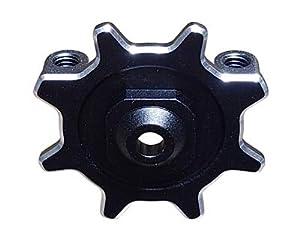 Sanwa S.191A04602A - Placa de Volante, Color Negro