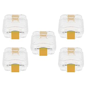 5 Stück Mundschutz Case Mundschutz Box Prothesenbox