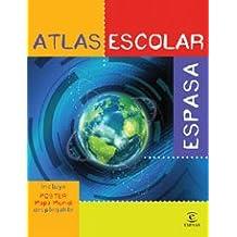 Atlas escolar Espasa (REFERENCIA ILUSTRADA)