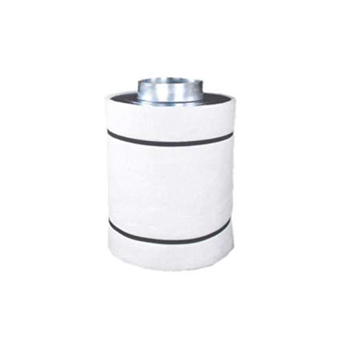 Airontek Filter Aktivkohlefilter Grow Verschiedene Größen Ø 100/125/ 150mm (125 mm / 25 cm - 240 CBM/h)