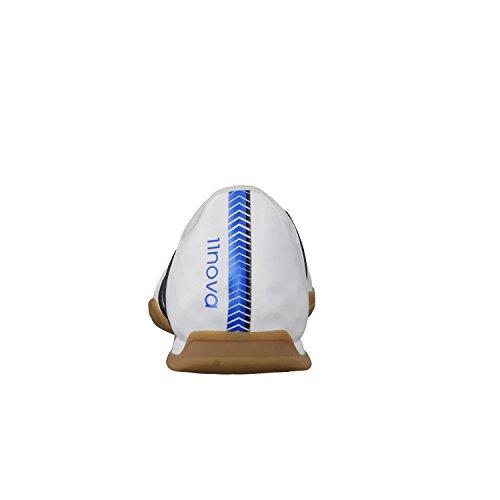 Adidas scarpe da calcio bambino 11 Nova IN J B44418 Bianco - ftwr white/core black/solar blue2 s14