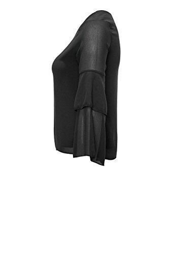 Hailys - Chemisier - Tunique - Uni - Col V - Femme Noir