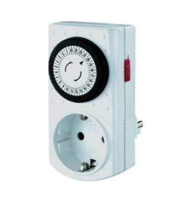 Bachmann 852104 Mini Zeitschaltuhr 24h, Weiß