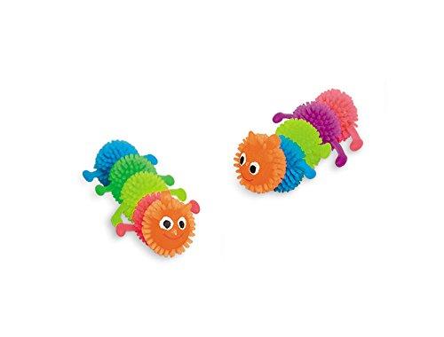 nobby-fluo-jouet-chenille-en-caoutchouc-pour-chat-7-cm-2-pieces