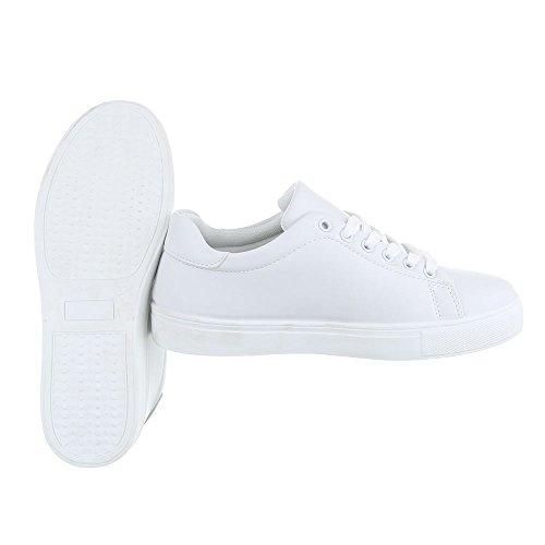 Branco Superior Design Das Tênis De Mulheres s27 Ital Casuais Baixo Sapatos Fc Calçam parte Laços 758qExF