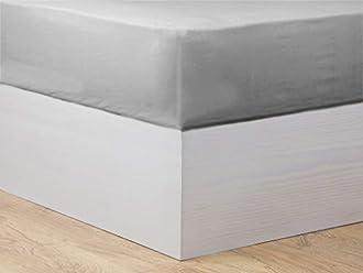 MI CASA Basic 105 - Lenzuolo con Angoli, 105 cm, Colore: Grigio Scuro