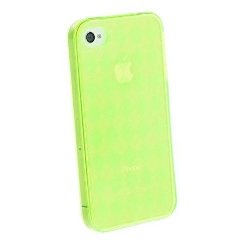 Horny Protectors Retro Style Schutzhülle für Apple iPhone 4 grün GRAU