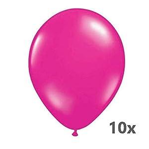 Folat 08418 - Globos metálicos (30 cm, 10 unidades), color rosa