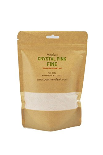 Salz 'sup Kristall Pink feines Salz (Pink Salt Shaker)