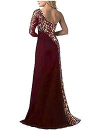Vestidos de noche color chocolate