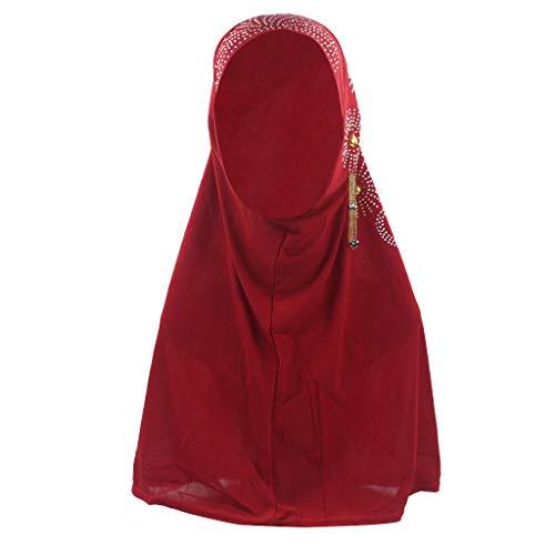 2019 New Muslim Hijab Plain Schal Baumwolle Weibliche Wraps Maxi Schals Für Frauen Winter Schals Perle Kap Bandanas Halstuch
