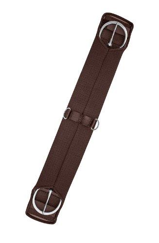 gera 9003 Sattelgurt, Western-Gurt, einseitig elastisch, 85 cm/34 Zoll, braun (Western Gurt)