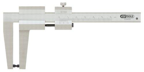 KS Tools 300.0535 Calibre à coulisse inox pour Disque de frein Vernier à vis Coffret bois pas cher