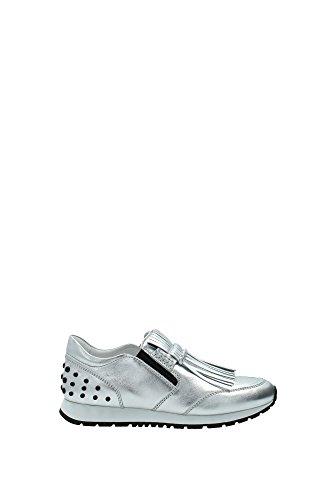sneakers-tods-damen-leder-silber-xxw0yo0p250sv0b200-silber-40eu