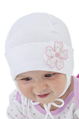 Neuf bébé fille Chapeau baptême baptême Chapeau Printemps Automne Vacances  Cap 0–18 mois blanc 639a0763ecb