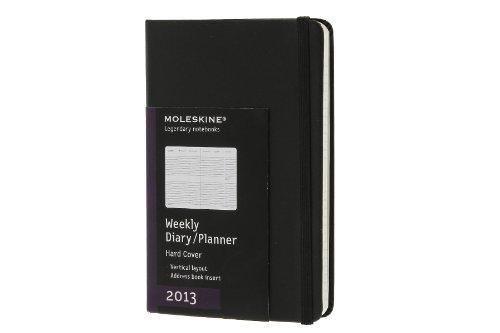Moleskine Pocket Diary Weekly Vertical 2013: Die ganze Woche auf zwei Seiten (Moleskine Diaries) (Planners & Datebooks)