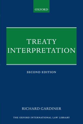Treaty Interpretation (The Oxford International Law Library)