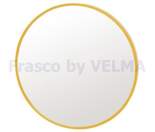 Frasco by VELMA M-DKMR-5x - Handgefertigter Kosmetikspiegel mit 5-Fach-Vergrößerung - Zum Kleben -...