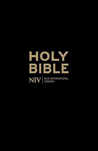 NIV Popular Cross-Reference Black Leather Bible (Cover Niv Bibel)