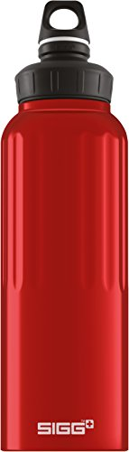 SIGG WMB Traveller Red, Borraccia escursione, 1.5 litri, Senza BPA, Alluminio, Rosso