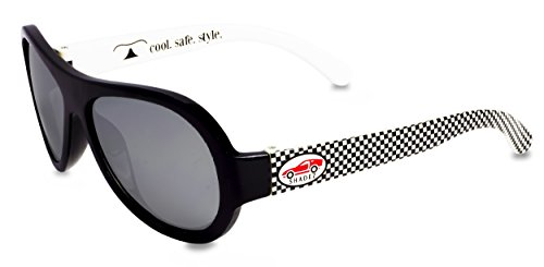 Shadez SHZ 21 Sonnenbrille Rapid Racer, Junior, 3-7 Jahre, schwarz